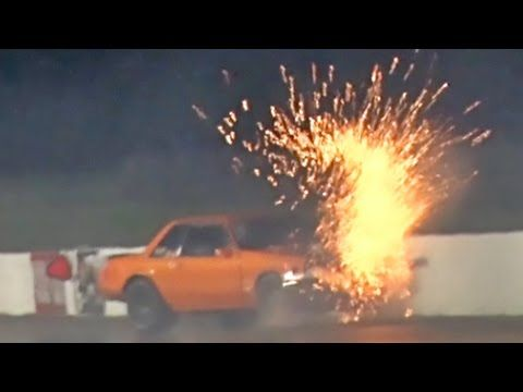 Turbo Mustang WRECKS!