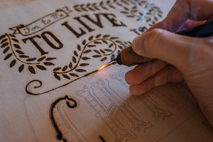 Hand lettering co woodburning process how to woodburn your art hand lettering co woodburning process how to woodburn your art spiritdancerdesigns Gallery