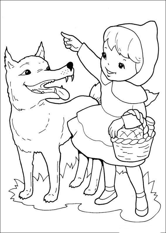 Caperucita Roja 2 Dibujos Faciles Para Dibujar Para Ninos