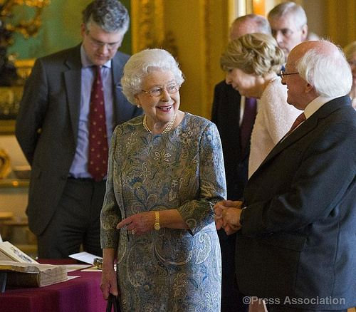 The Queen and President Higgins at Windsor | Flickr - Photo Sharing!