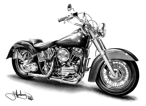 Karakalem Motosiklet Cizimi Ile Ilgili Gorsel Sonucu Harley Davidson Motosikletler Harley Davidson Motorsiklet