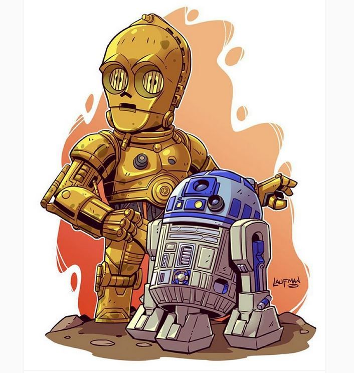Derek Laufman Star Wars Http Www Dereklaufman Com Star Wars Cartoon Star Wars Characters Star Wars Art