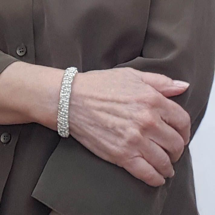 DDSCB Bracelets en Cuir,Vintage R/églable Noir Mode Art Verre Renard en Cuir Tiss/é /À La Main Bracelet Classique R/étro Multi-Couche Unisexe Punk Amiti/é Bracelet pour Hommes Femmes Couple