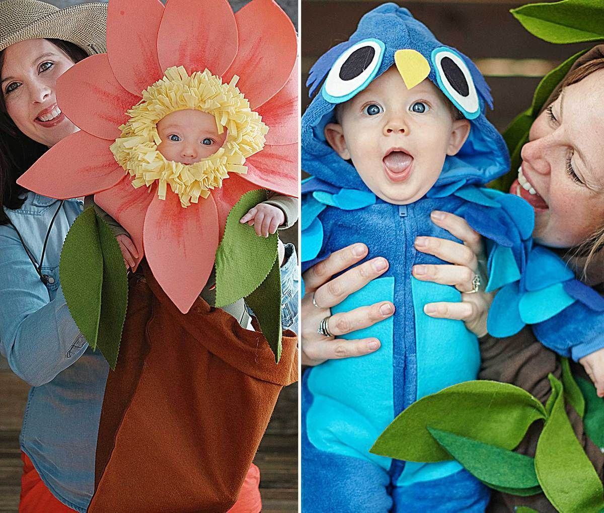 diy baby and infant halloween costume ideas by