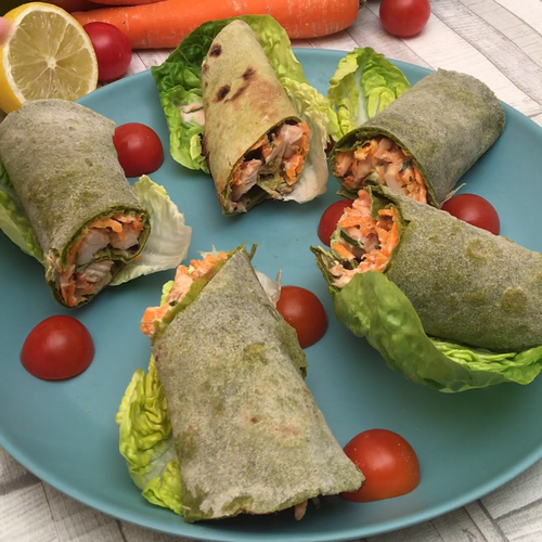 Recipe Chicken Spinach Wrap and other Chefclub rec