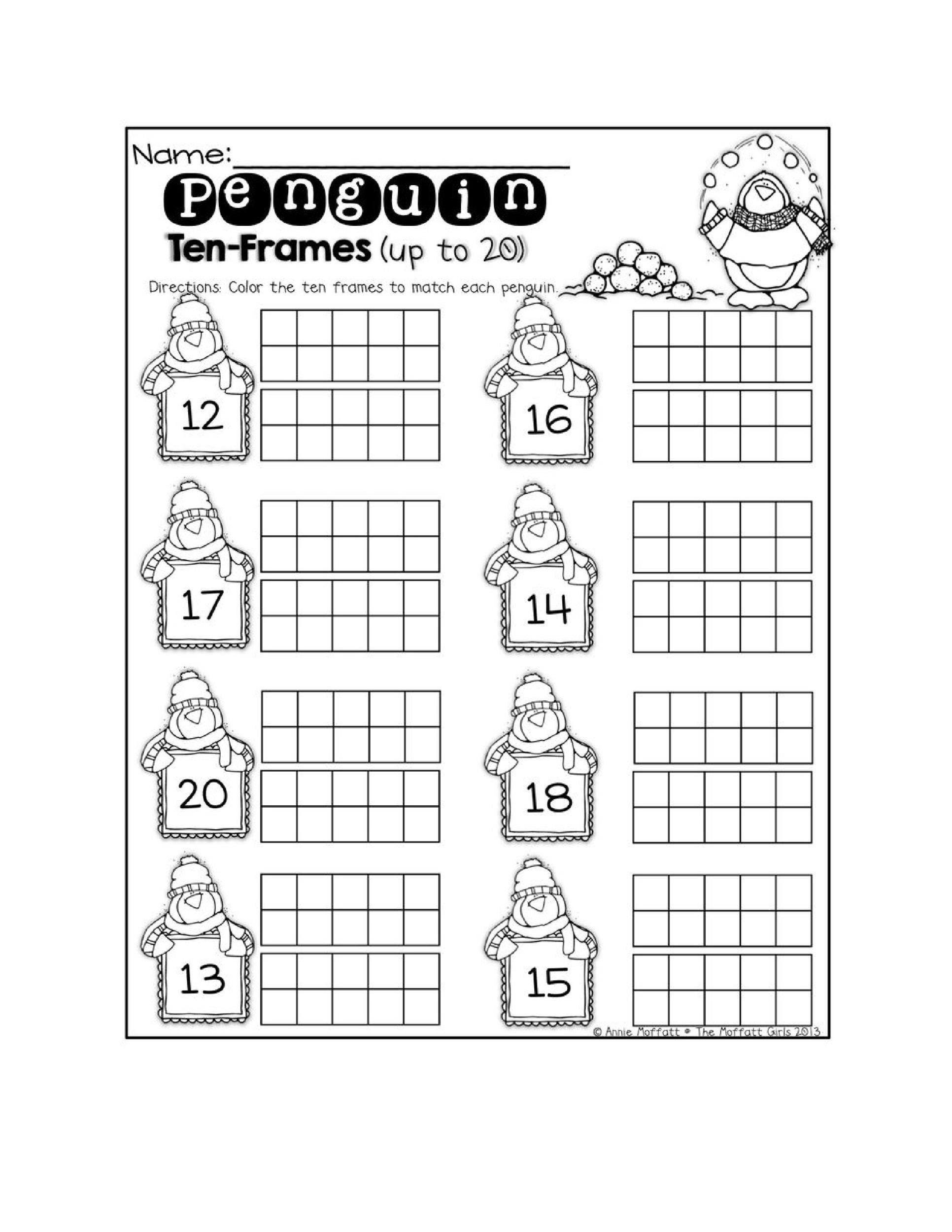 Ten Frame Worksheets Kindergarten Worksheets Ten Frame Math Worksheets Free Kindergar In 2020 Kindergarten Worksheets Printable Kindergarten Worksheets Math Worksheets