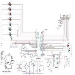 Circuit Diagram for Traffic Management for Emergency