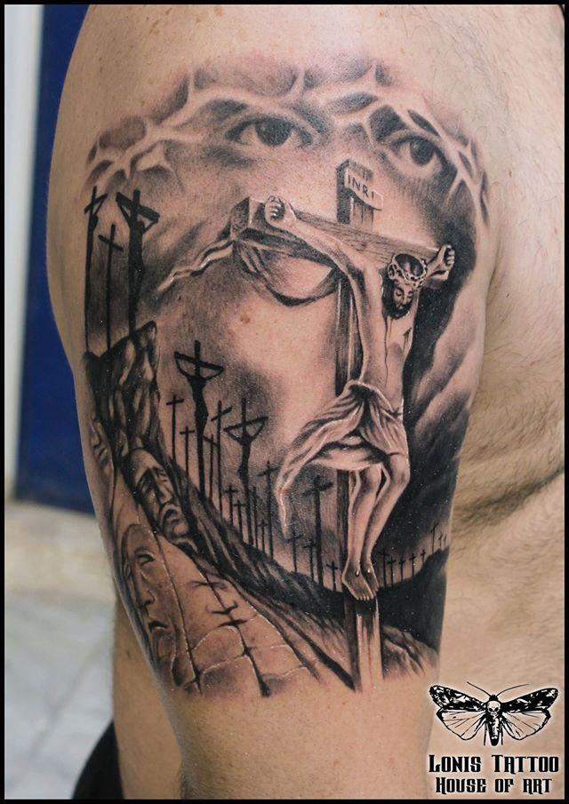 Pin De Saban Pinturas En Otros Tatuaje Jesucristo Tatuaje De