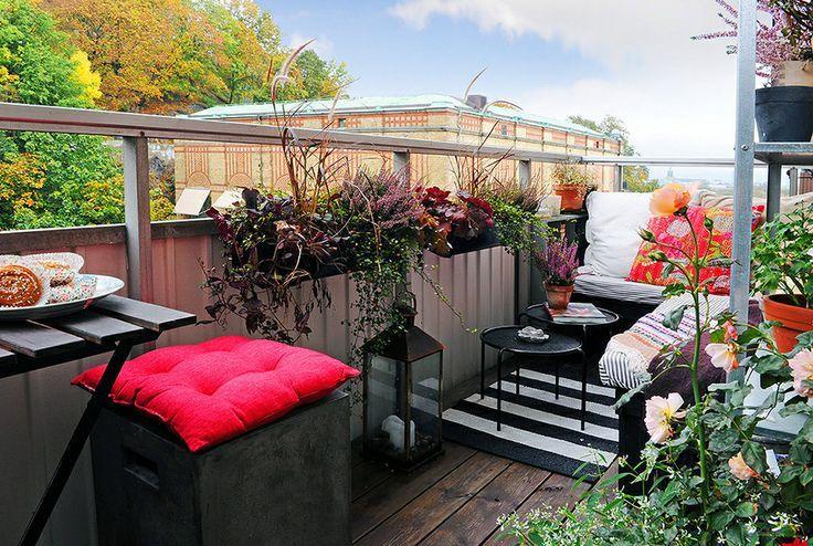 Idee per la casa d\'autunno: balconi e terrazzi | Idee per casa d ...