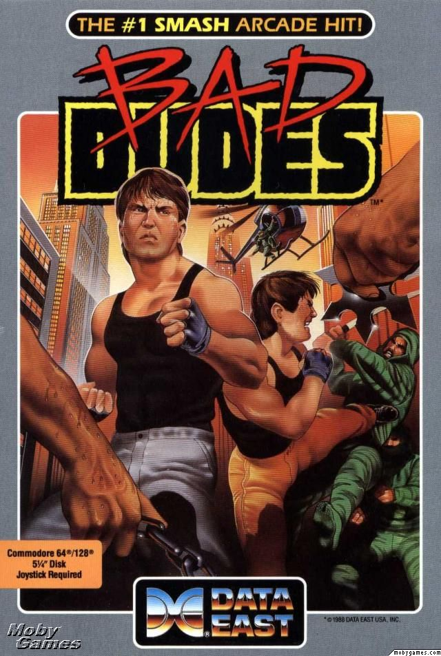 Retro Bad Dudes Game Poster////NES Game Poster////Video Game Poster////Vintage Game Re