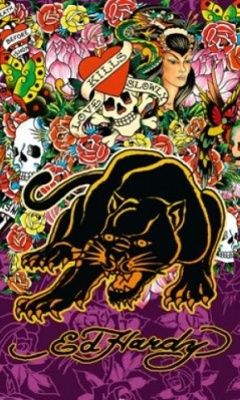Download Ed Hardy 217694 Logos mobile wallpapers   Wallpapers ... 1a8c033d23