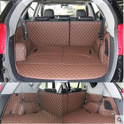 Newly Special Trunk Mats For Hyundai Grand Santa Fe 6seats 2017
