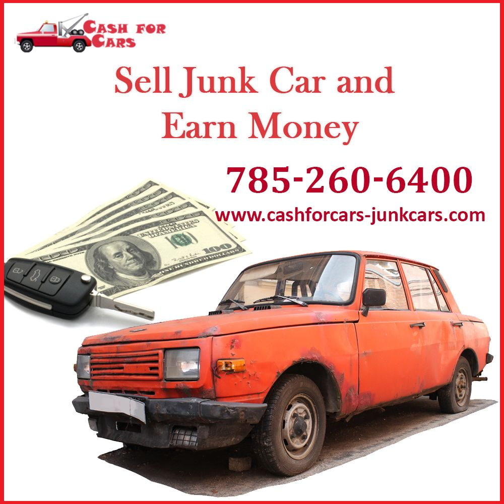 Don't feel hassle with your useless car, sell your junk