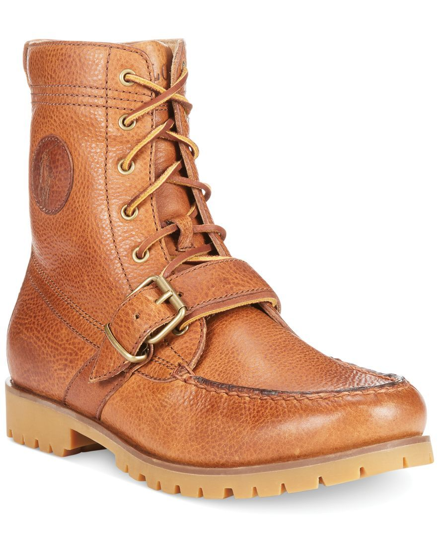 Perfect your street-worthy style with these rugged Ranger boots from Polo  Ralph Lauren.