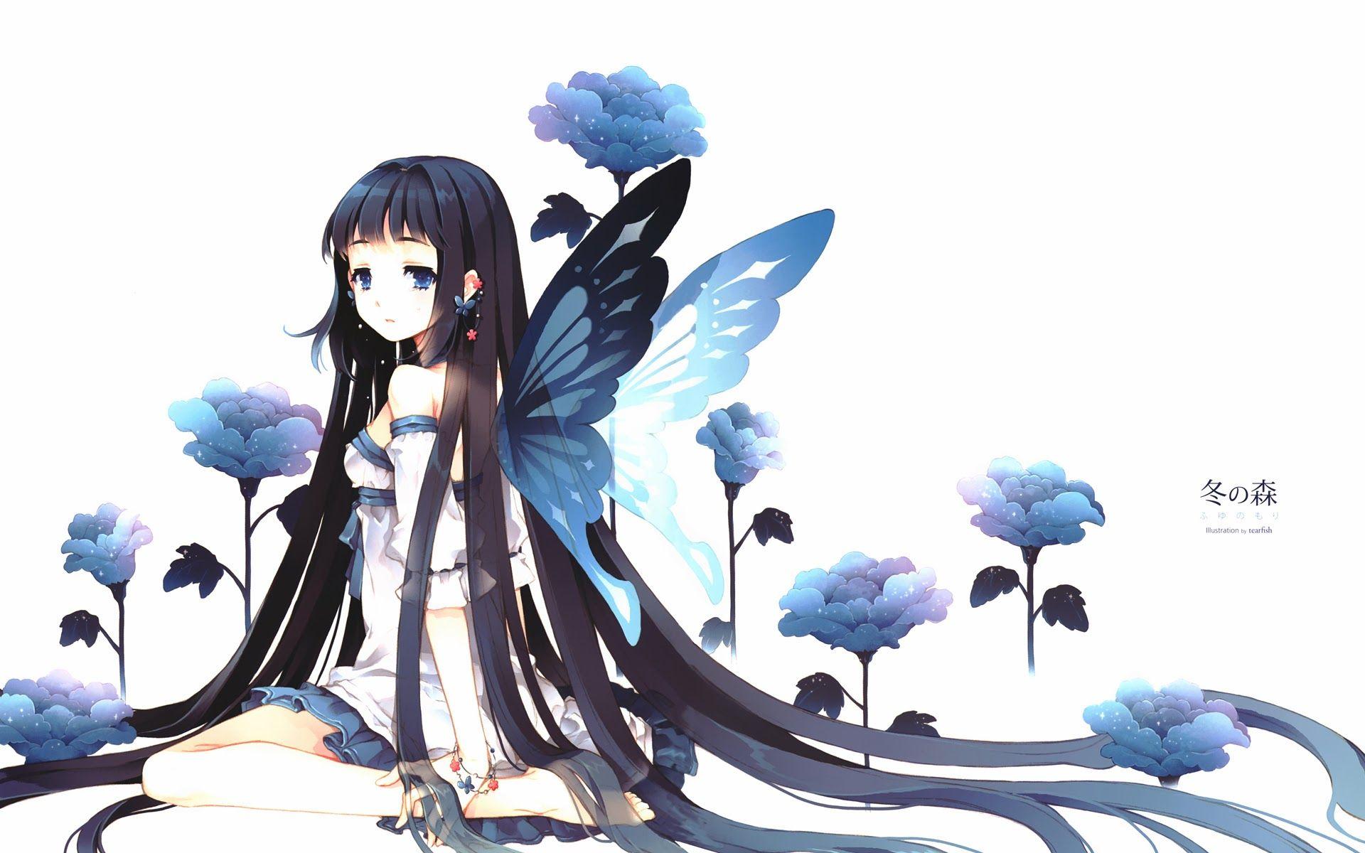 butterfly Anime Pinterest
