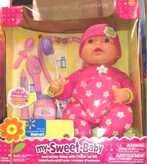 Baby doll recall Walmart toy poses burn hazard Baby