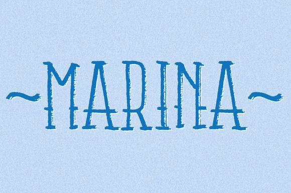 Marina | Fonts, Creative and Serif font