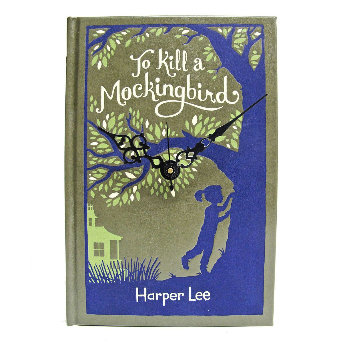 I Liked This Design On Fab To Kill A Mockingbird Book Clock Books Vintage Book