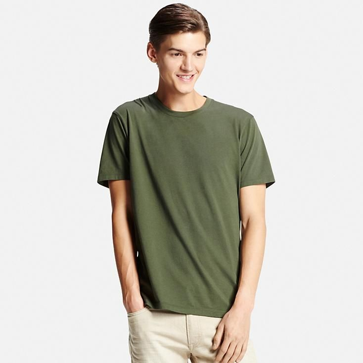 3bf815296ce7 MEN SUPIMA COTTON CREW NECK SHORT SLEEVE T-SHIRT