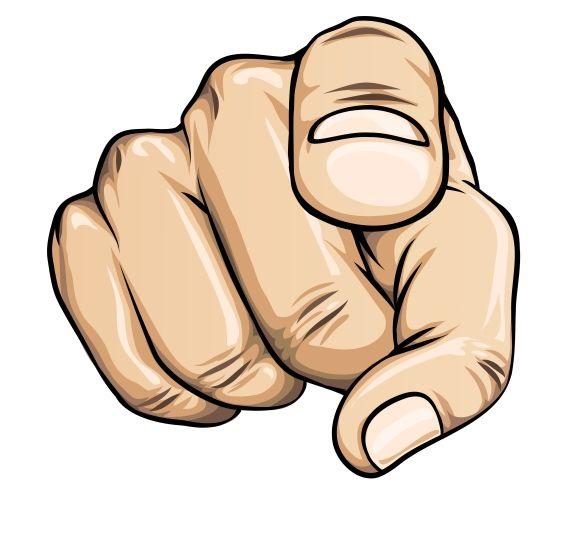 Pointing Finger Desenhos De Dedo Apontando O Dedo Como Desenhar Maos