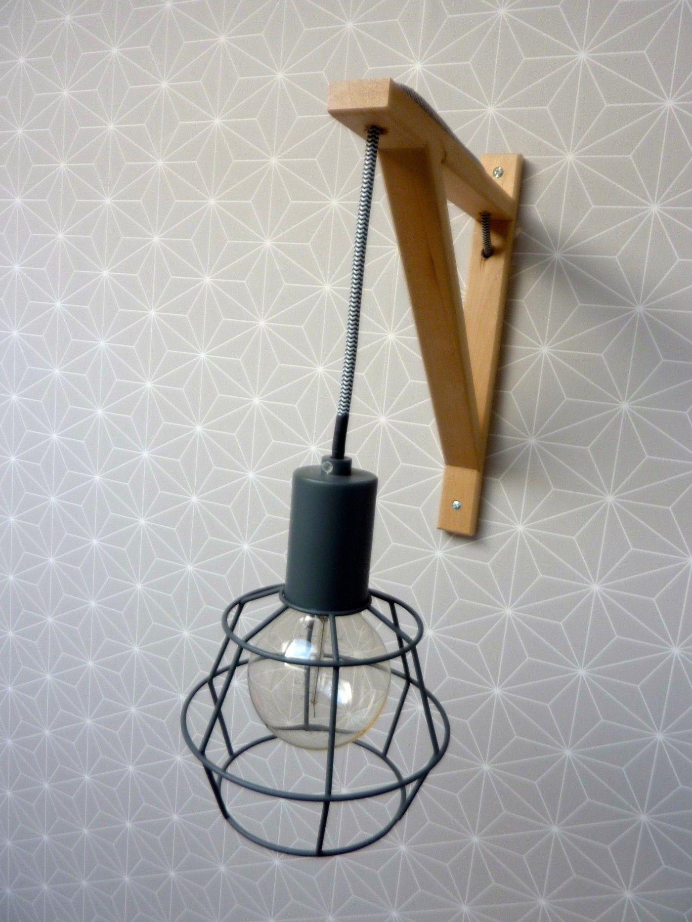 Super Idée simple et astucieuse pour créer une applique style scandinave  GE08
