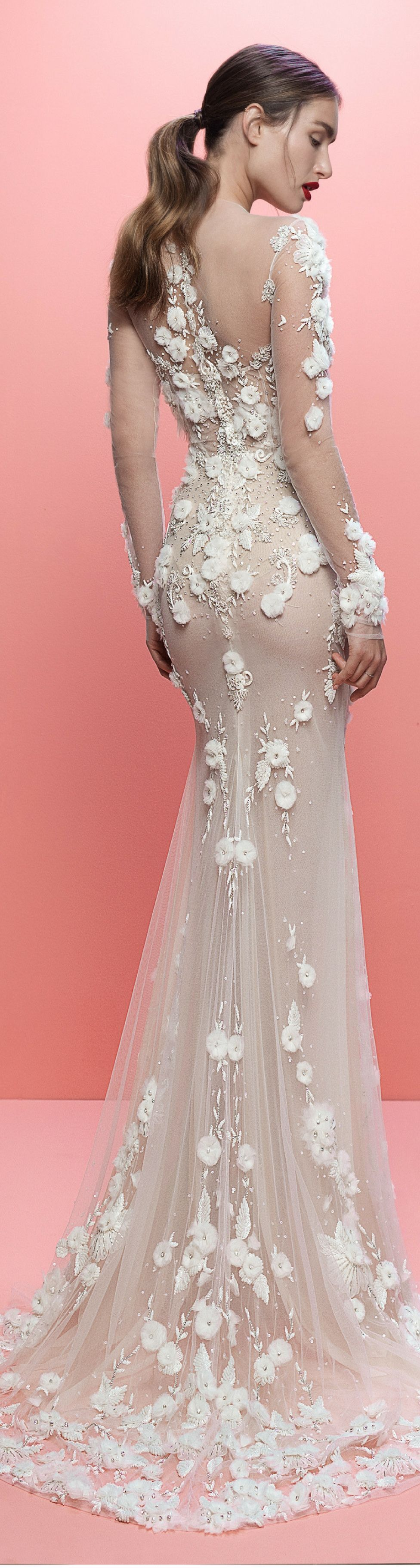 Back out wedding dresses  From the back the detailing of our new Thea wedding dress really