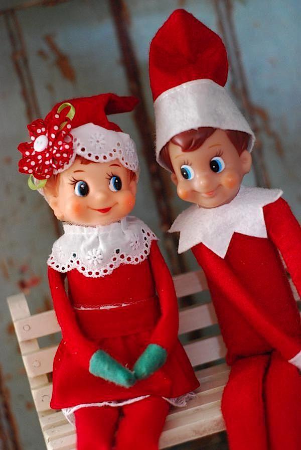 Elf On The Shelf Christmas Elf On The Shelf Girl Boy Christmas