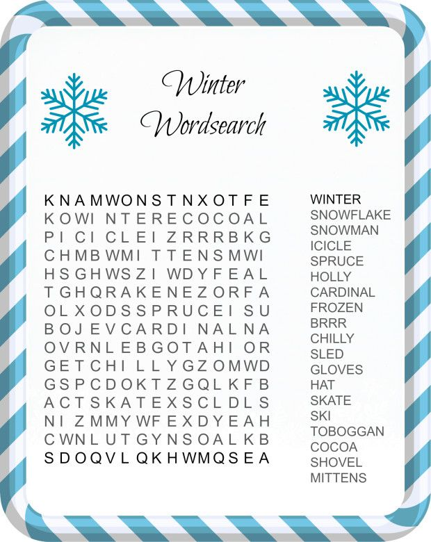 Fun  Festive Christmas Word Search Printables for Kids  Template
