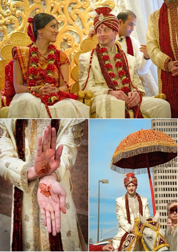 An Indian Wedding outside