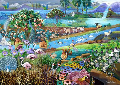 Malu Delibo artist-巴西藝術家-馬魯·德利博  自然藝術呈獻農場裡的鮮花.香氣.水果.牛奶.蜂蜜。。。 - ☆平平.淡淡.也是真☆  - ☆☆milk 平平。淡淡。也是真 ☆☆