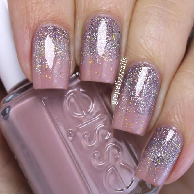 Mauve Color Nails For The Exquisite Look Naildesignsjournal Com Mauve Nails Mauve Nail Polish Nail Designs Glitter