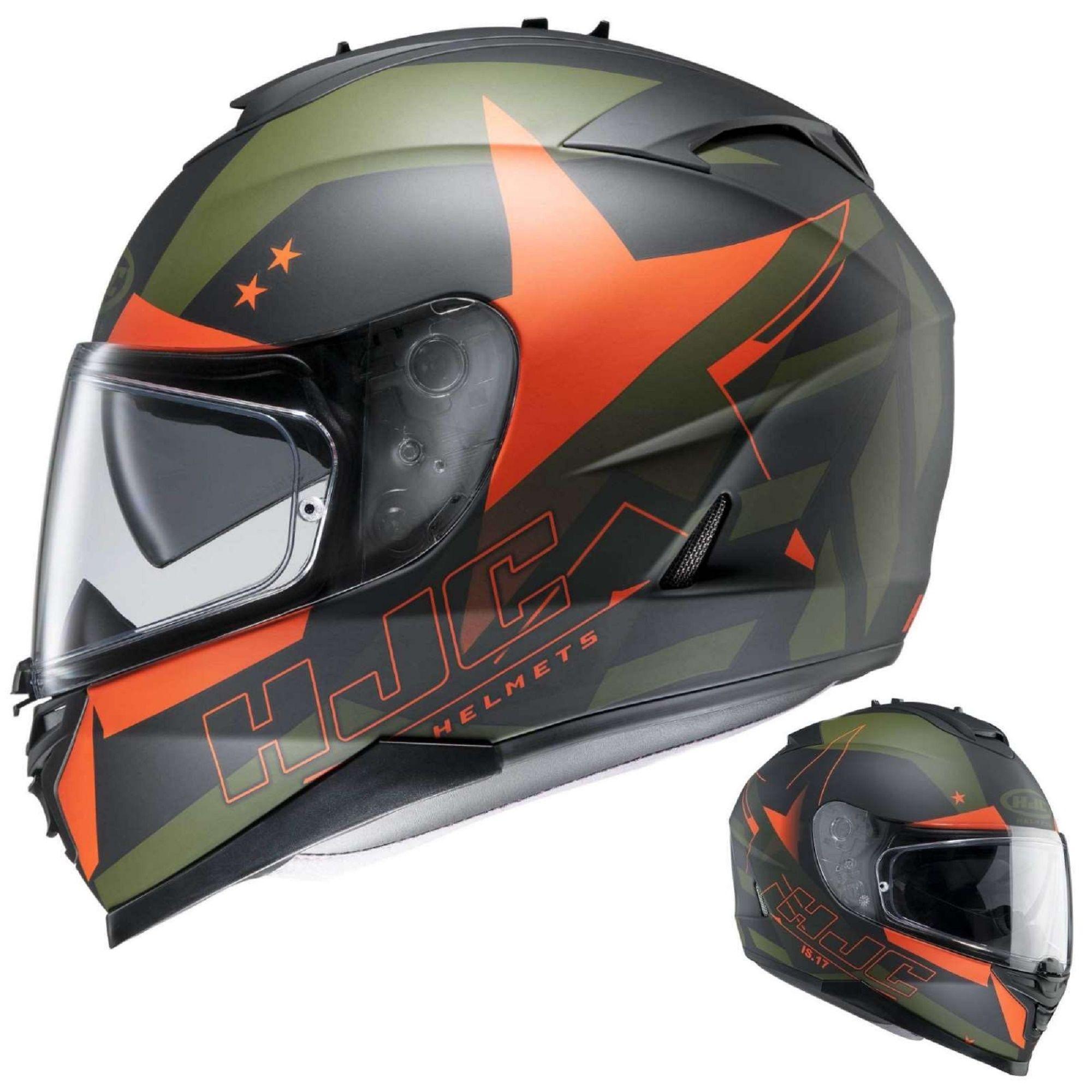HJC IS-17 (Armada / MC7F) Helmet - €239.90 (£186.82