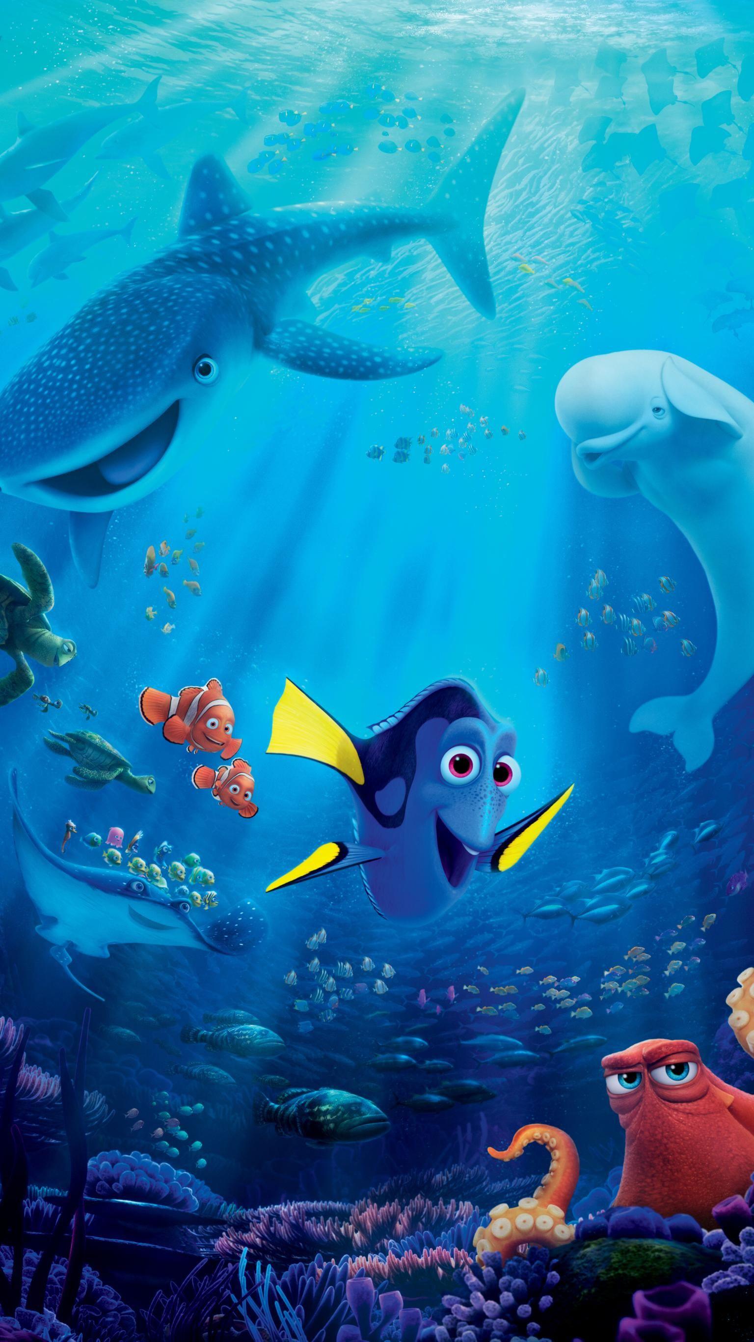 Finding Dory 2016 Phone Wallpaper Moviemania Finding Dory Movie Finding Dory Full Movie Finding Dory