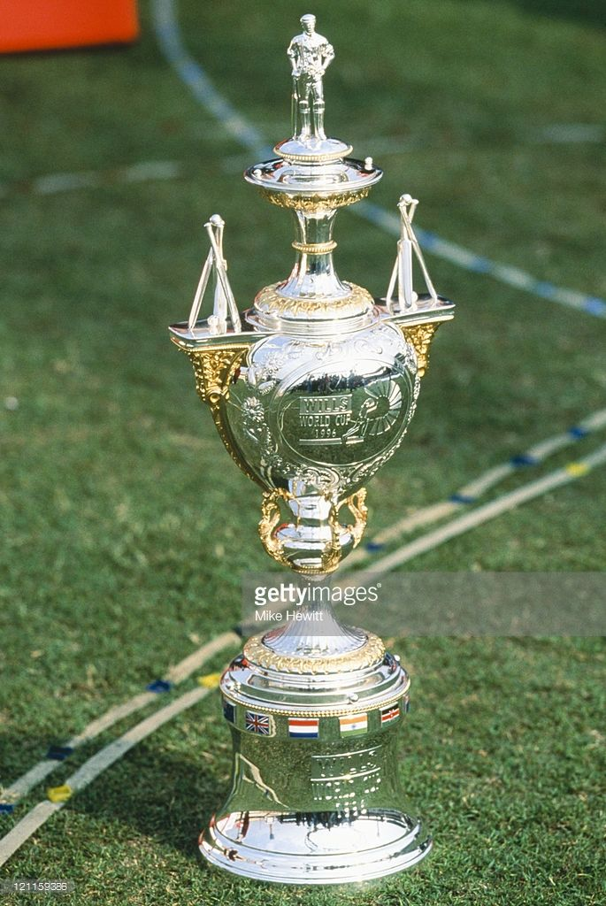 The 1996 Wills Cricket World Cup Trophy Pictured At The Opening In Picture Id121159386 685 1024 World Cup Trophy Cricket Sport Cricket World Cup
