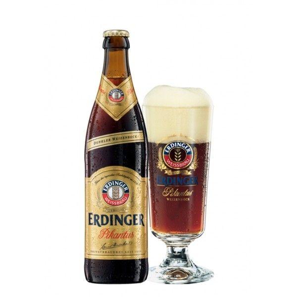 Erdinger Pikantus | VASOS | Vodka, Beer y Beer bottle