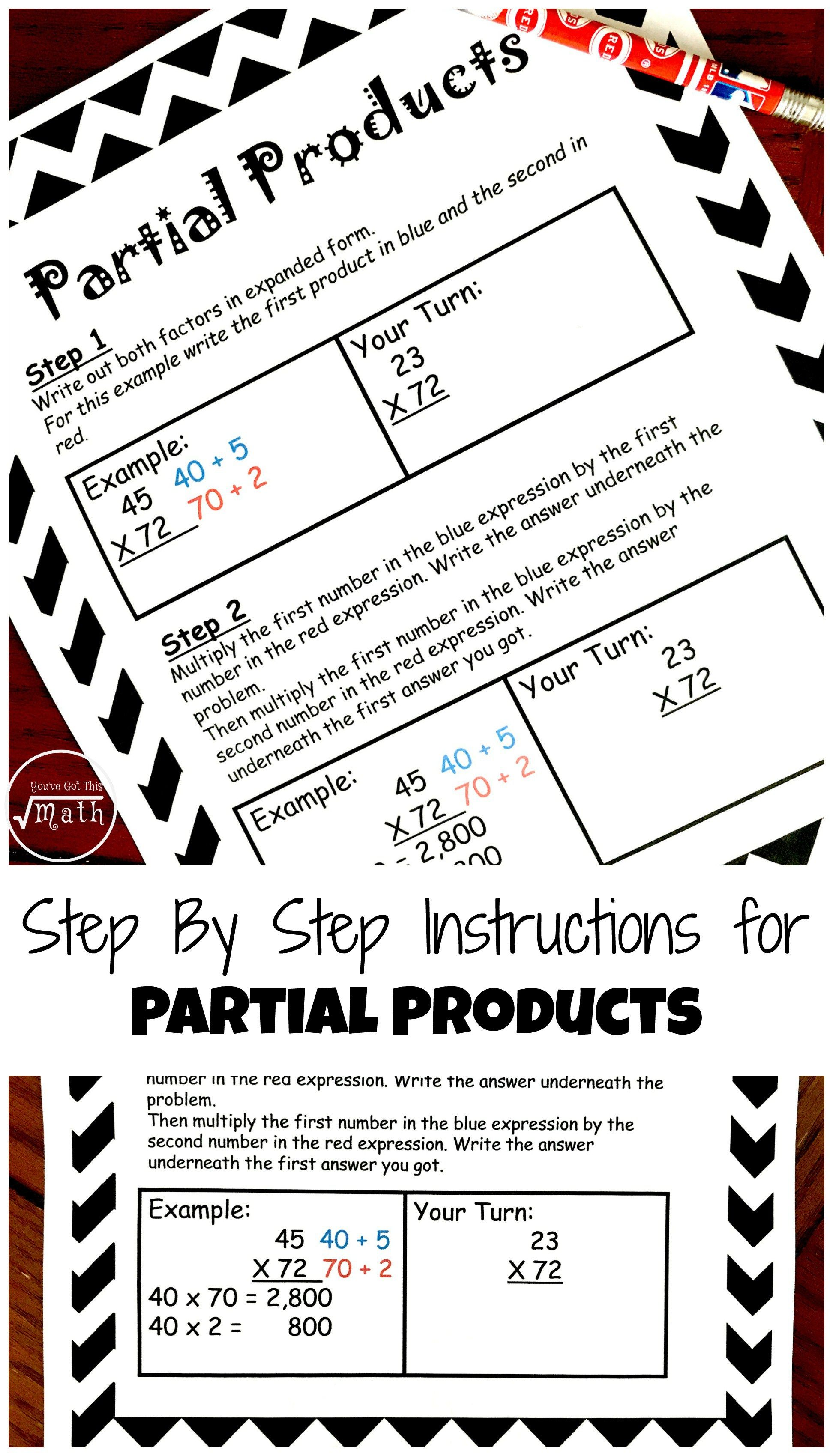 Four Ways To Teach Multiplication With Free Printable