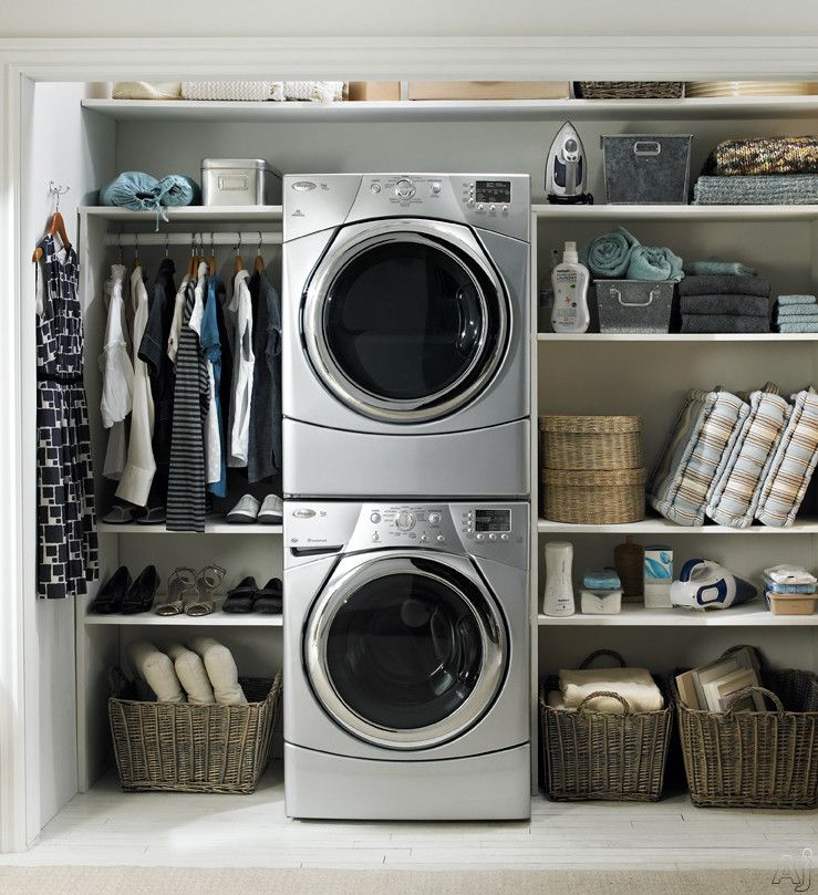 Whirlpool Laundry Room Laundry Room Storage Stackable Washer