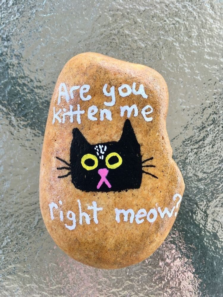 40 Punny Painted Rocks Just for Pun  Funny Ideas to Try is part of Painted rocks kids, Rock painting designs, Painted rocks, Rock art, Rock crafts, Rock painting ideas easy - Recreate these punny painted rocks to humor your funny bone or just have a blast reading them to yourself and your kids!