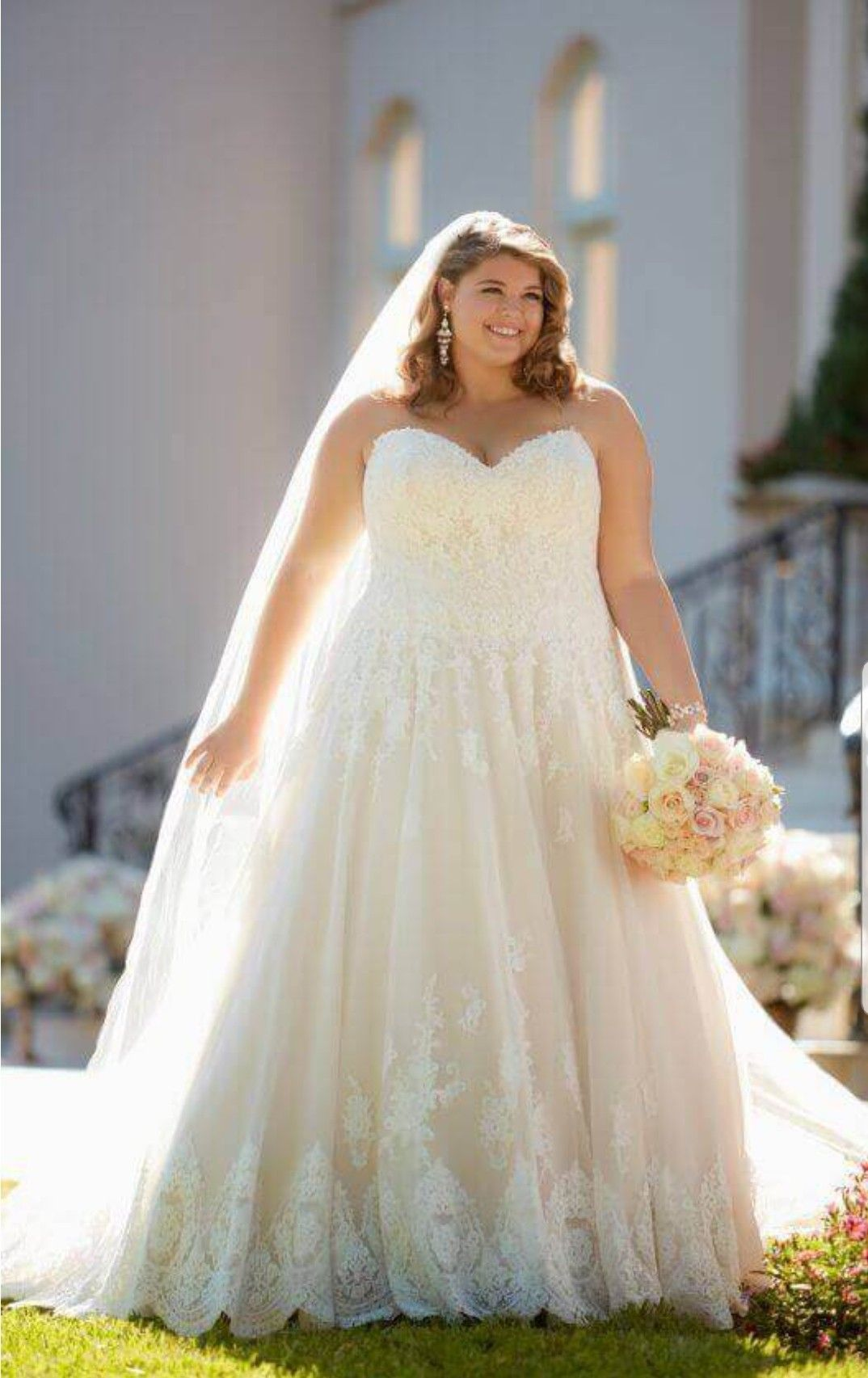 5b58607c751 ... Will Boost Your Confidence On Your Wedding Day. Plus Size Brides