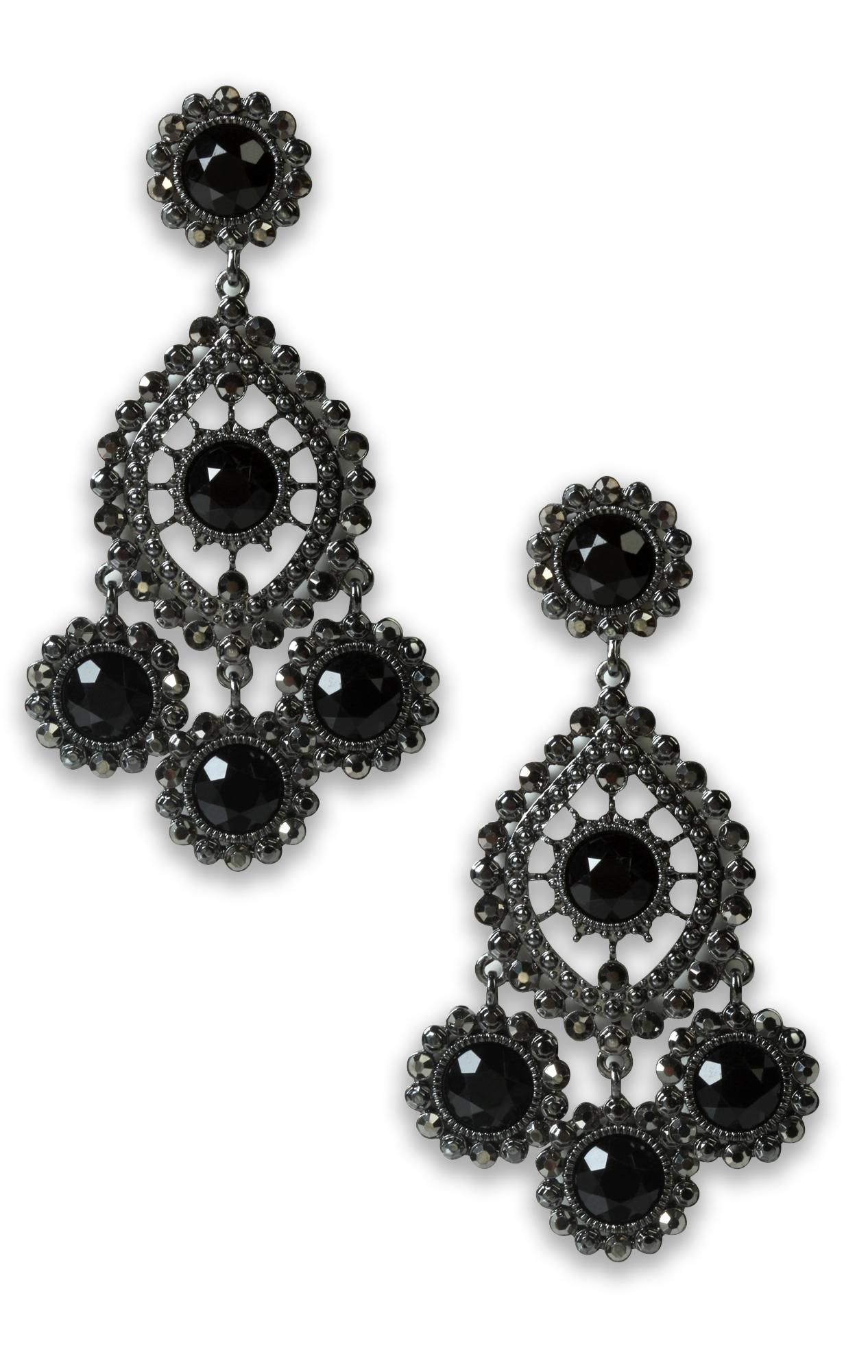 large chandelier stone #earrings $10.87 | DEB-CESS♡RIES ...