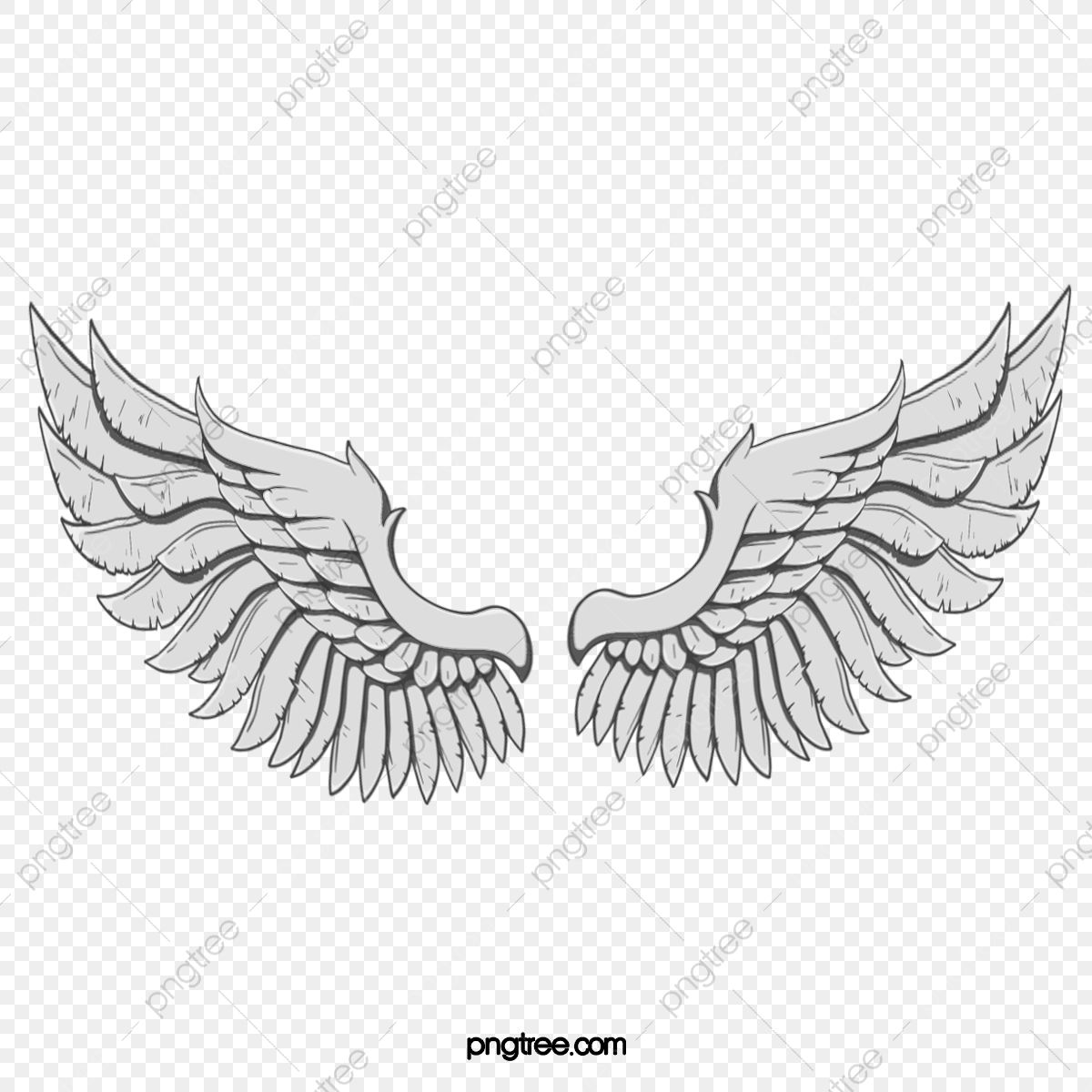 Hand Painted Angel Wings Angel Clipart Wings Clipart Wing Png Transparent Clipart Image And Psd File For Free Download In 2020 Cartoon Angel Wings Cartoon Wings Angel Wings Png
