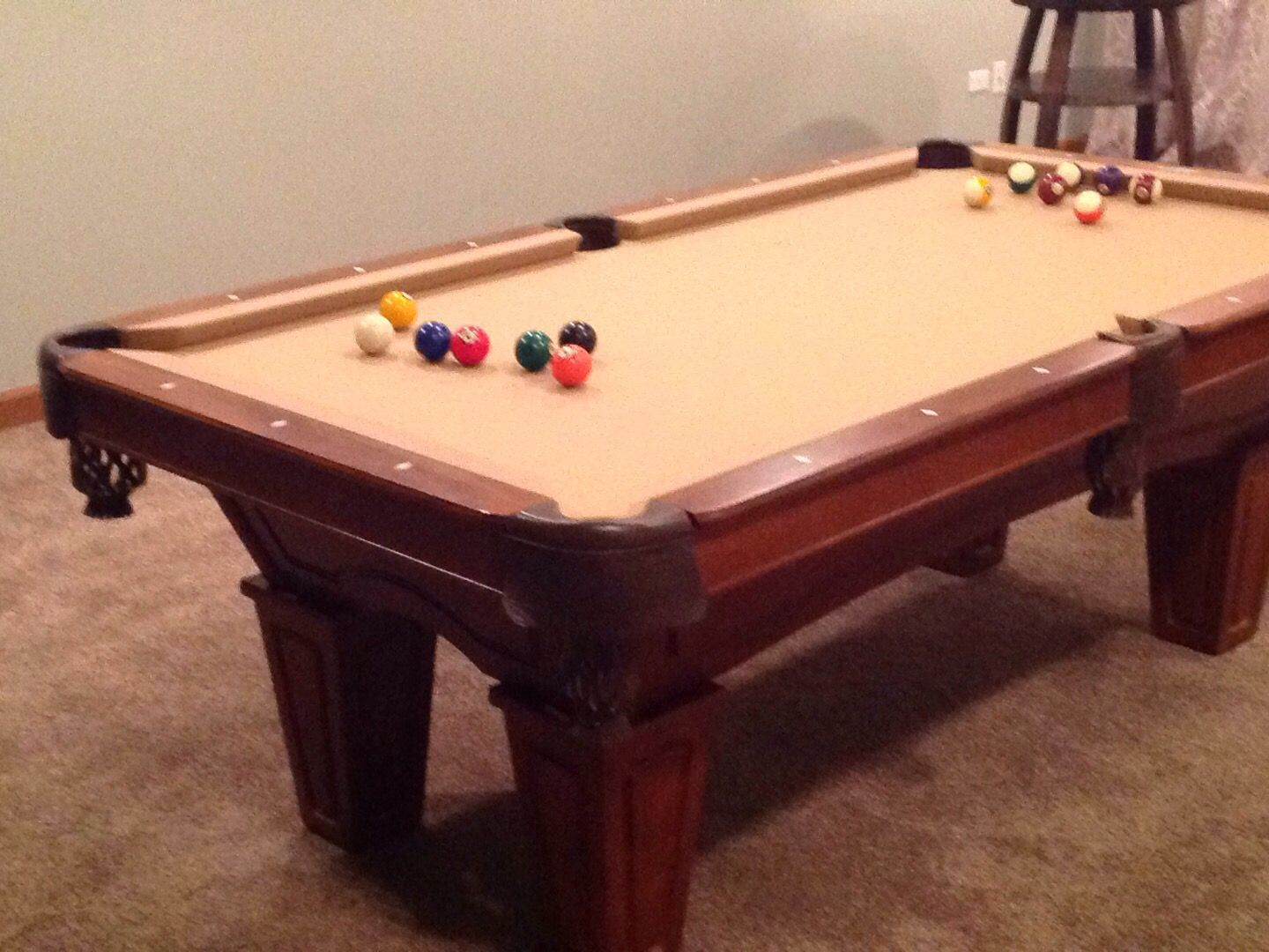 Brunswick Allenton Sold Sold Used Pool Tables Billiard Tables - Brunswick allenton pool table