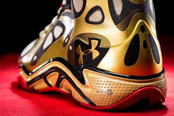 Stephen Curry Golden Shoes Wallpaper