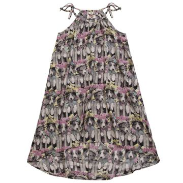 Paper Wings Gathered Puppies Maxi Dress 3 Monkeys Children S Bouti Gathered Maxi Dress Paper Wings Clothing Wings Dress