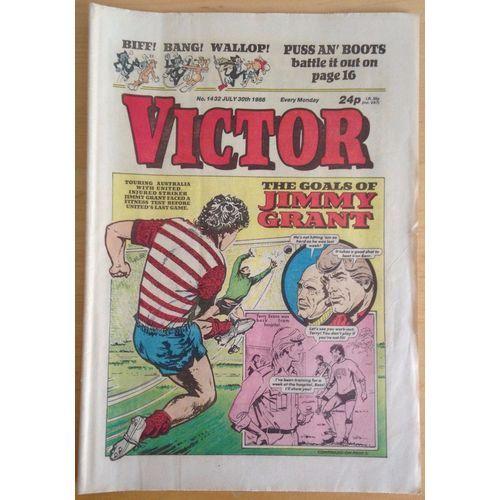 Victor #1432 Comic UK July 1988 Football Sport Action Adventure