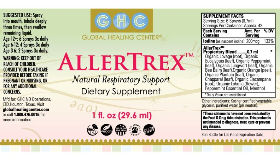 Allertrex Natural Respiratory Support I Ve Found It Really Worked On My Nighttime Post Nasal Drip Into My Lungs Lung Cleanse Natural Allergy Relief Lunges