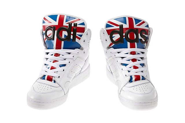 e247fda85a04ae This might be the next Jeremy Scott shoes that I purchase! ADIDAS ORIGINALS  JS INSTINCT HI (UNION JACK)
