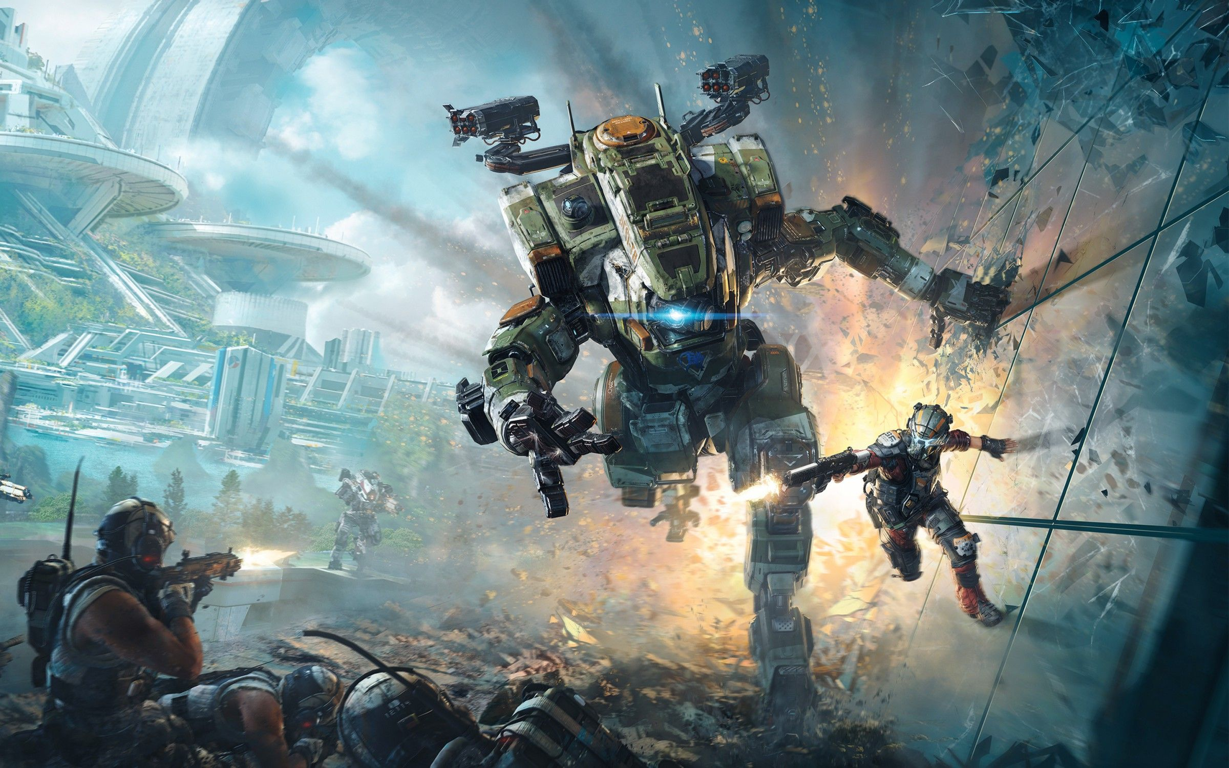 Titanfall 2 Wallpapers Picture Is Cool Wallpapers Titanfall Gaming Wallpapers Titanfall Game