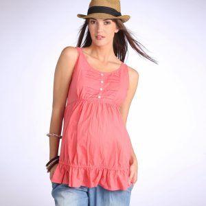 5b1902a0a Blusas de verano para embarazadas 2 Vestidos Para Gorditas 2015