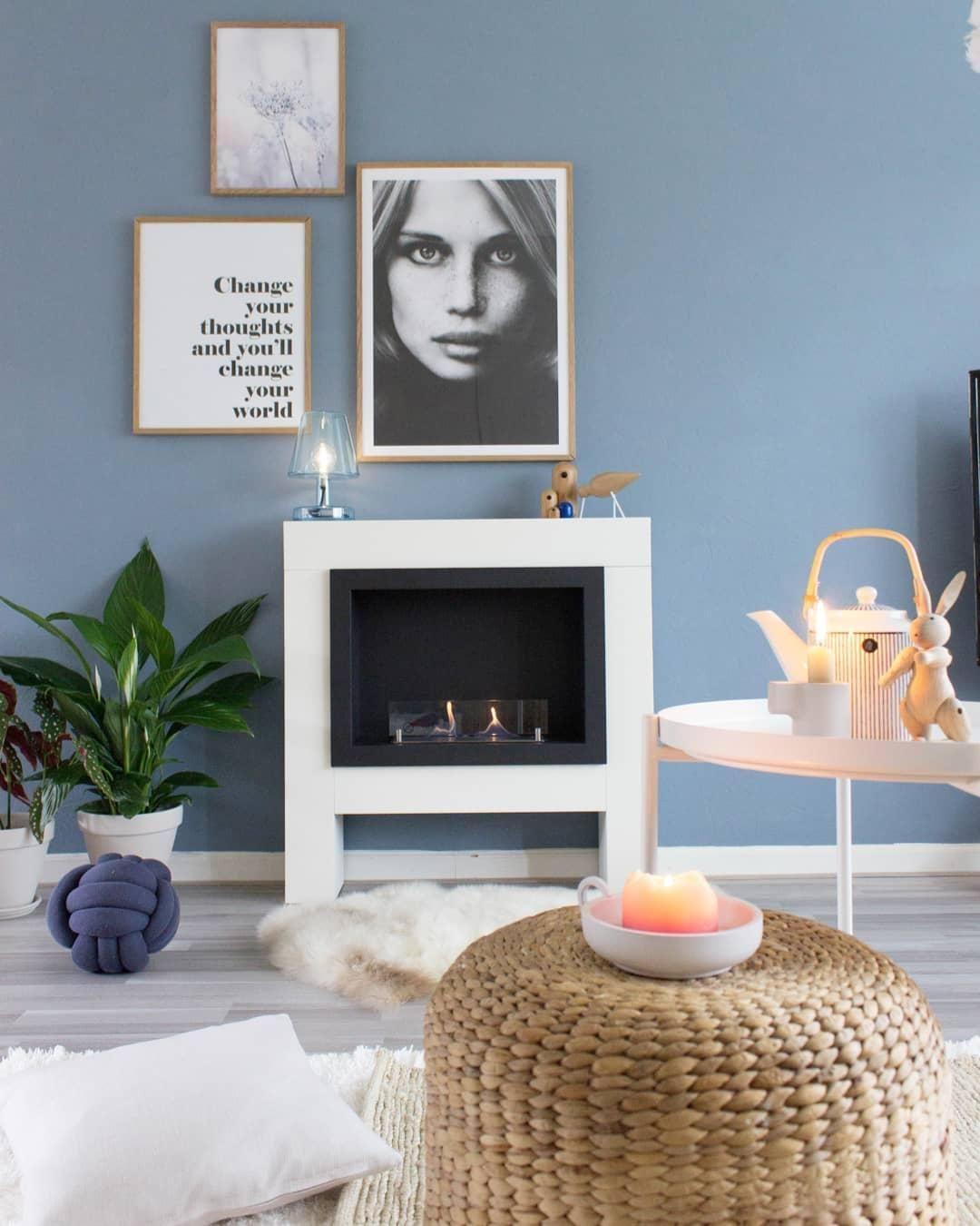 wandfarbe ruhe des nordens in 2019 let 39 s get cozy pinterest wandfarben ideen wohnzimmer. Black Bedroom Furniture Sets. Home Design Ideas